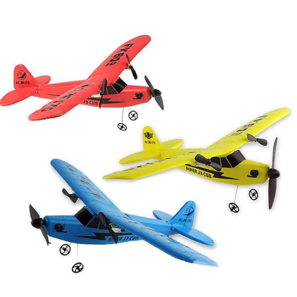 PIPER J-3 CUB RC letadlo 2 kanály 2,4 Ghz,