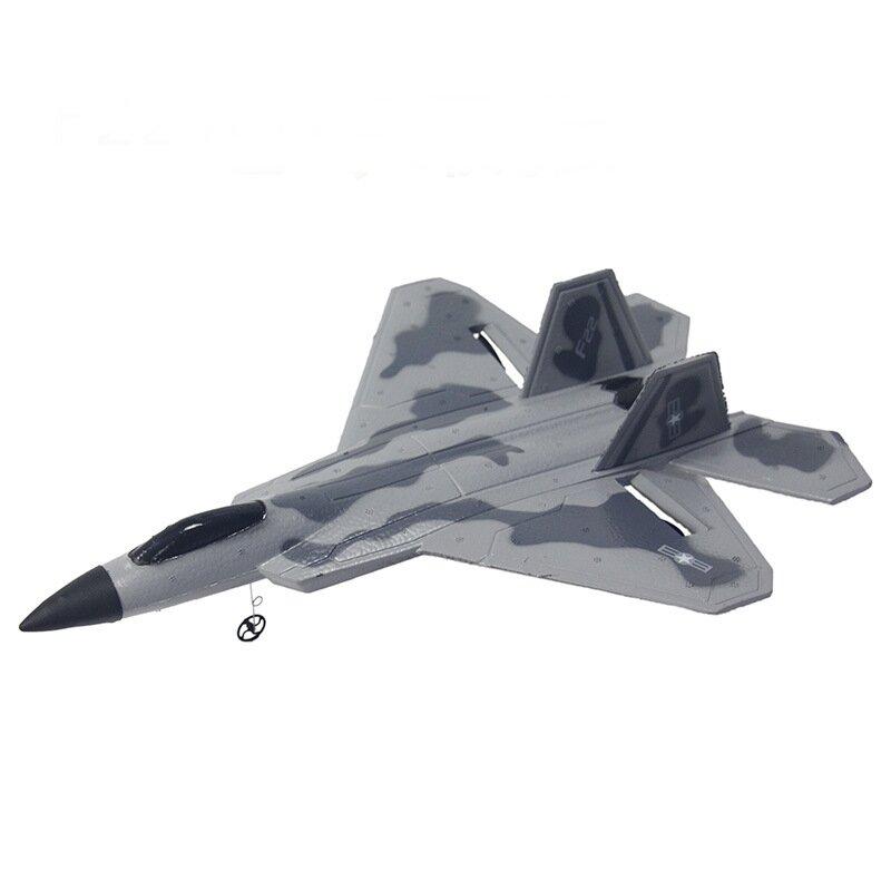 Lockheed Martin/Boeing F-22 Raptor RC letadlo 2ch 2,4 Ghz