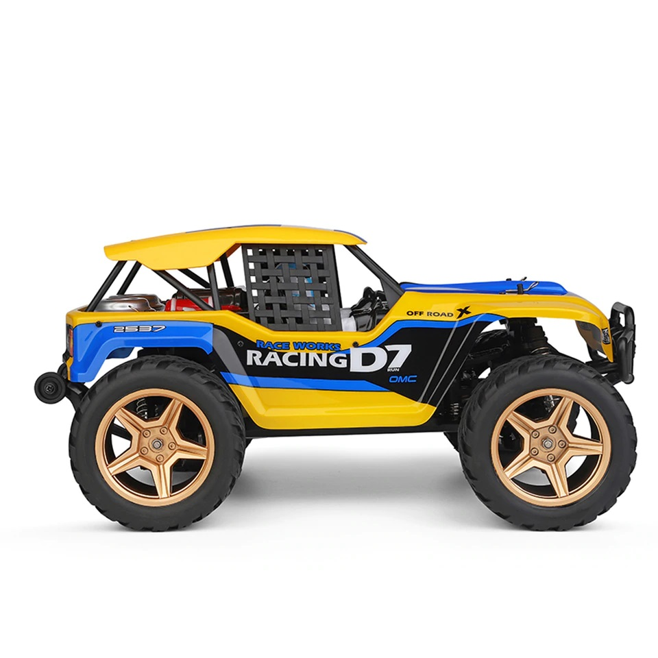 D7 Cross-Country Truggy 4WD, až 45 km/h, 1:12, RTR