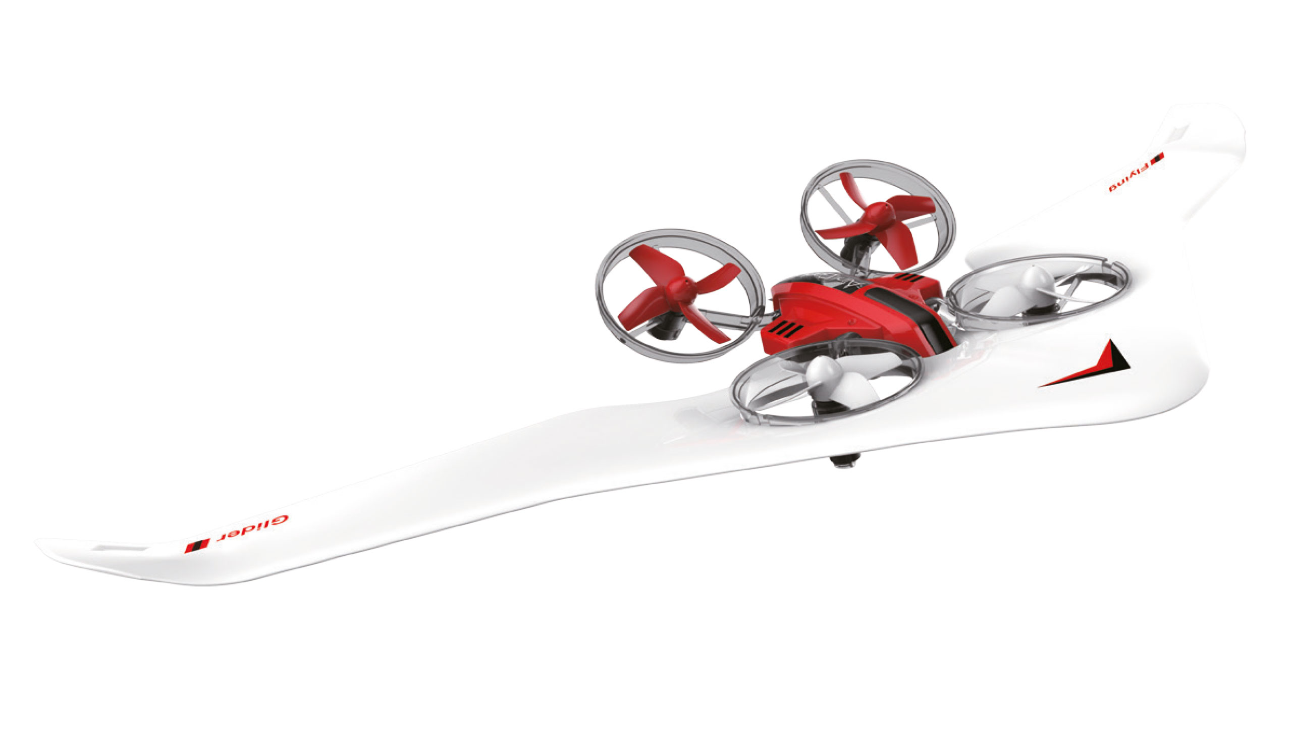 Air Genius All-in-one, dron, kluzák a vznášedlo v jednom, gyro, headless, RTF