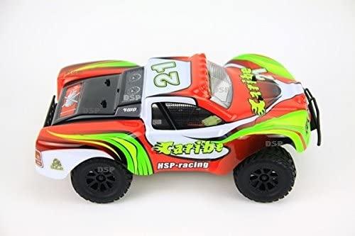 Caribe HSP racing 4WD, 1:18, proporcionální ovládání, RTR, červená