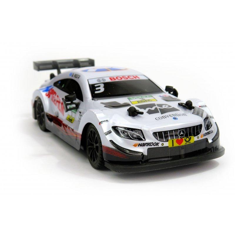Mercedes-AMG C63 DTM, licencovaný model 1:24, ovladač pro praváky/leváky, 100% RTR