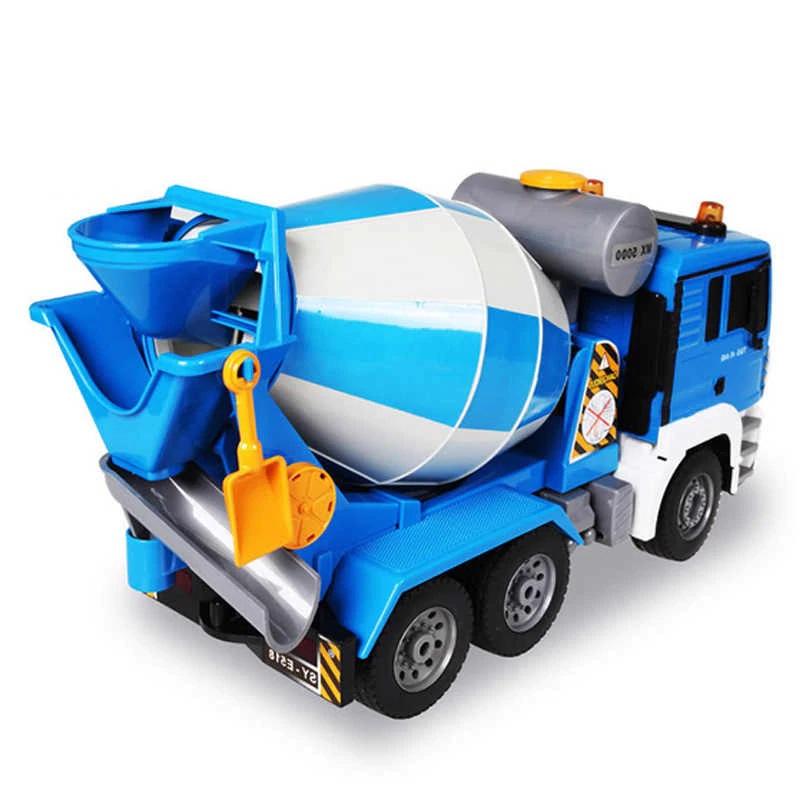 MAN CONCRETE MIXER 4WD míchačka betonu, 1:20, zvukový modul, LED, funkční míchačka, RTR