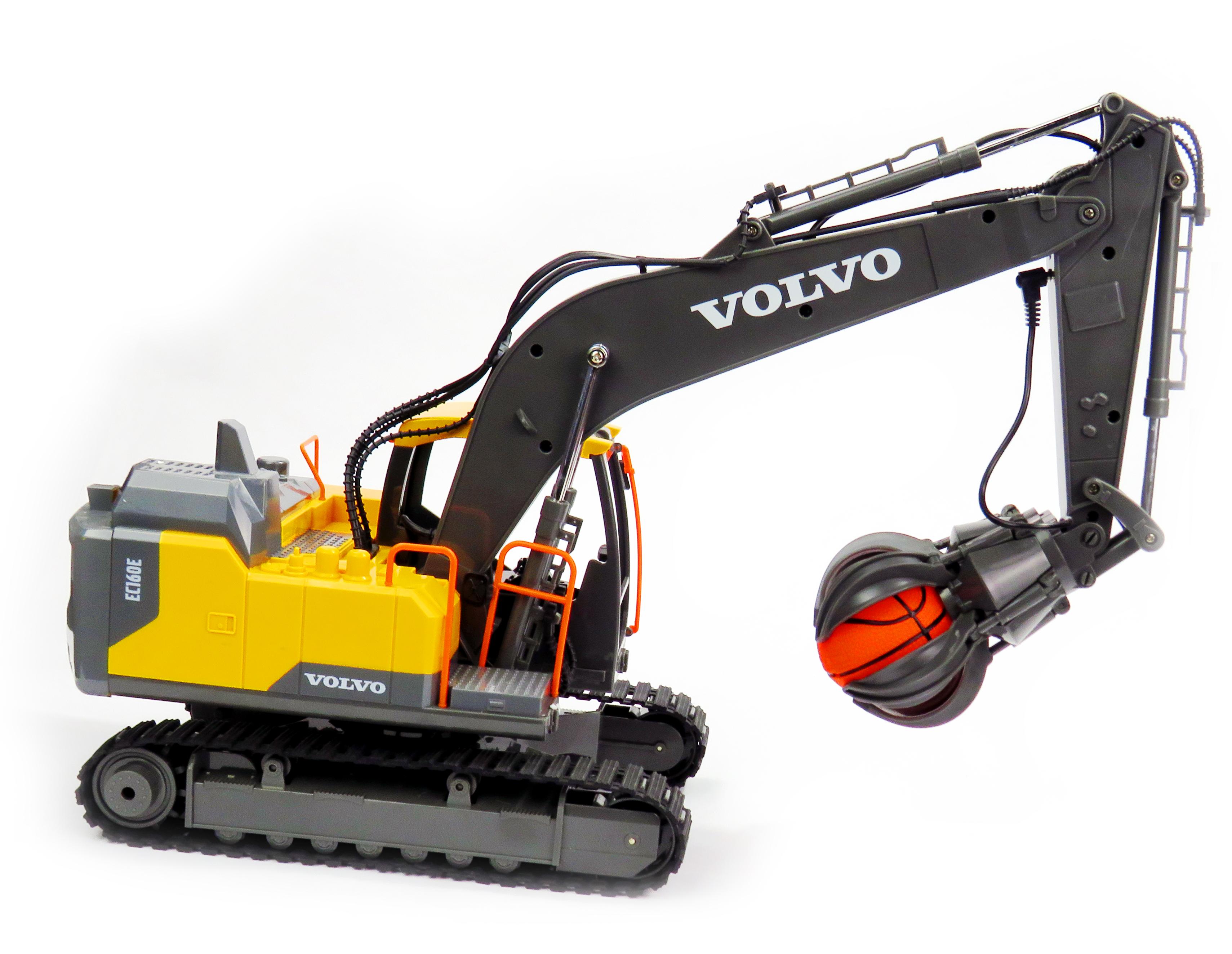 Volvo licencovaný pásový bagr 1:16 2,4 GHz RTR