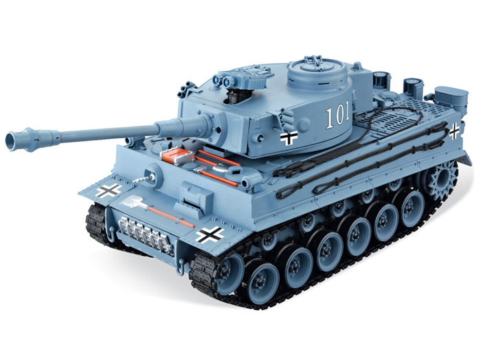 GERMAN TIGER BB 1:16, LED, zvkový modul, 100% RTR