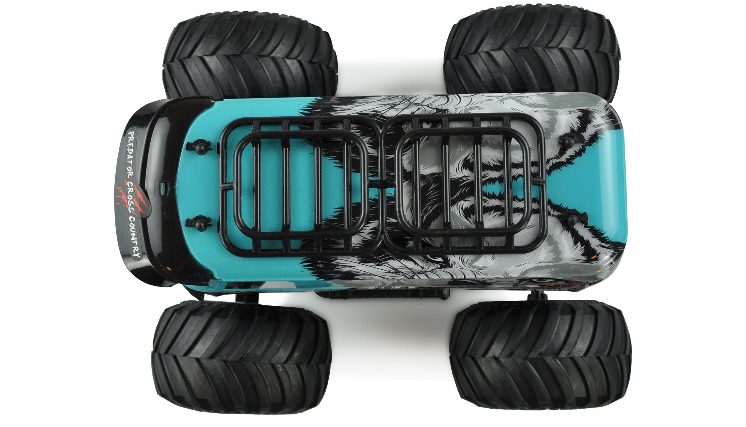 Crazy Truck 1:16 Predator CrossCountry 45, 2.4 GHz, 2WD, až 15 km/h, RTR