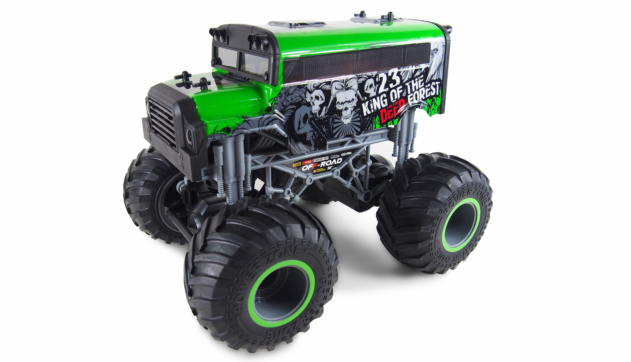Crazy Truck 1:16 King of the Deep Forest, 2.4 GHz, 2WD, až 15 km/h, RTR