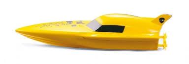 Bazénová minilodička Gallop BOAT- žlutá