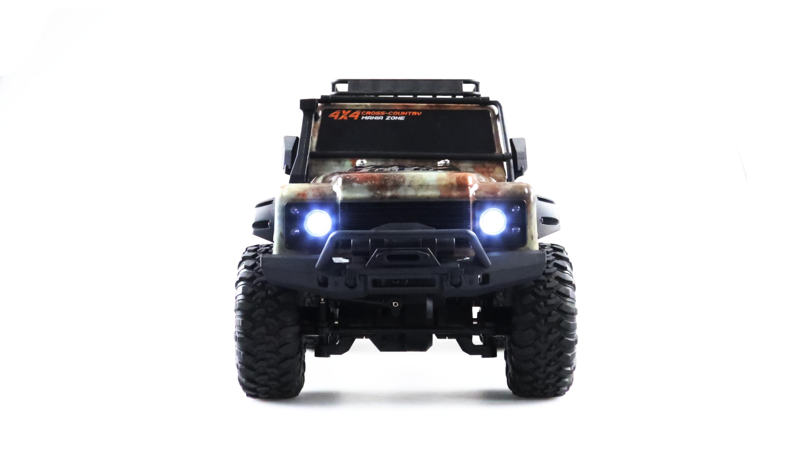 MAX TIGER 3 Dirt Climbing SUV 4x4, 1:10, LED, proporcionální, ochranný rám, 100% RTR