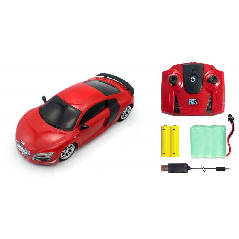 Audi R8 GT, licencovaný model 1:24, LED, 100% RTR