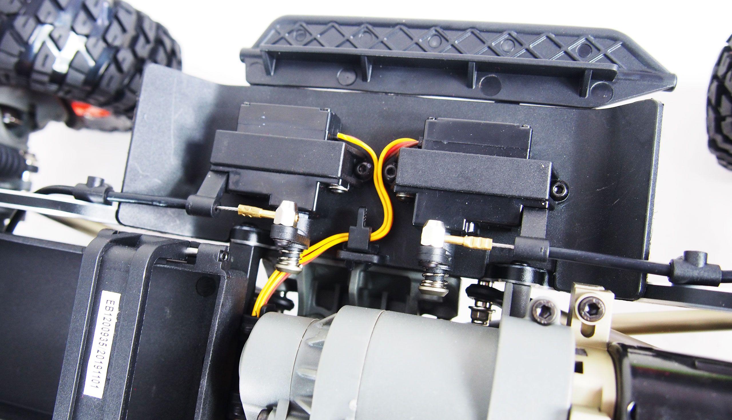 AMX Rock RCX10PS 2,4 Ghz PROFI s uzávěrkami 1:10 RTR a portálovými nápravami, 2 rychlosti