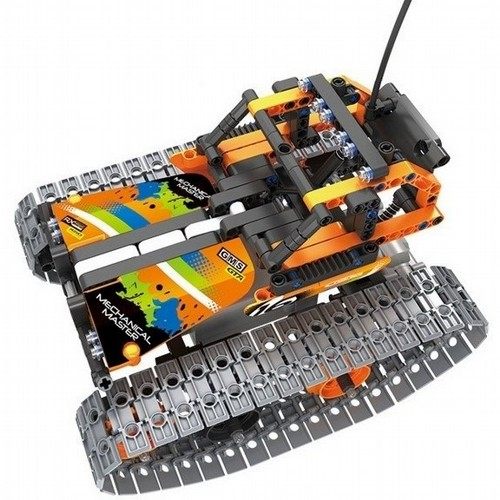 Crazy Tuning Car RC stavebnice Mechanical Master, 2.4 GHz, mechanické převody, 392 dílů