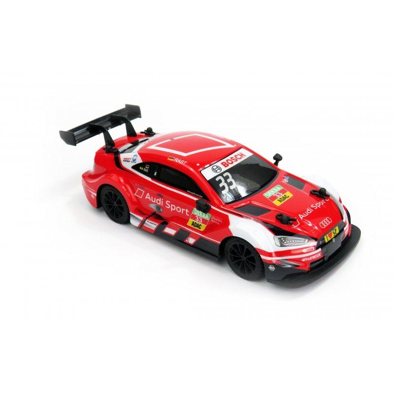 Audi RS 5 DTM, licencovaný model 1:24, ovladač pro praváky/leváky, 100%  RTR