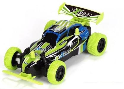 Extreme BRAVE 2WD 1:20, 2 rychlosti, gumové pneumatiky, tělo z Lexanu, RTR, zelený