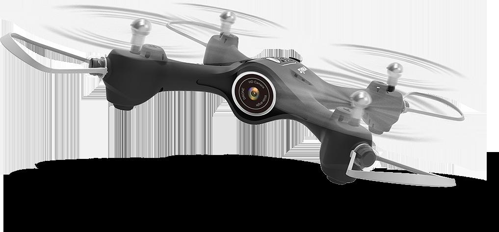 Syma X23W černá, FPV, HD kamera, 6axis gyro, barometr, LED, 360° otočky, headless mod, RTF