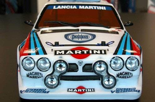 Lancia Delta S4 gr.B 4WD 1:10, licencováno, proporcionální, lak. karoserie, RTR sada