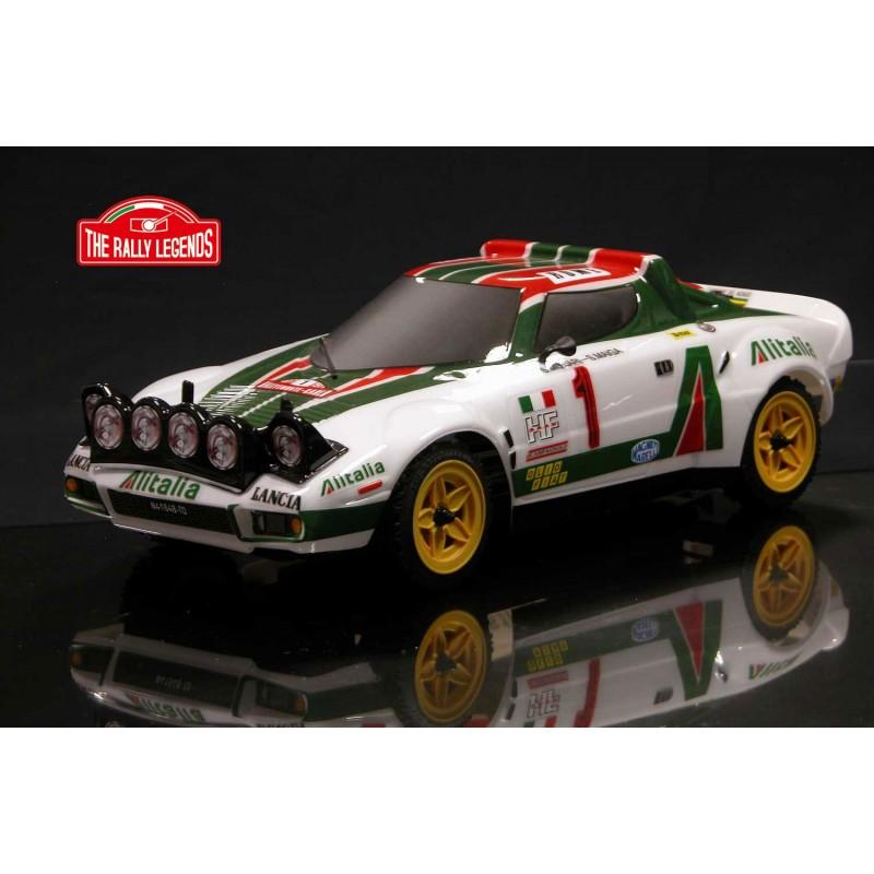 Lancia Stratos 1977 4WD 1:10, licencováno, proporcionální, lak. karoserie, RTR sada