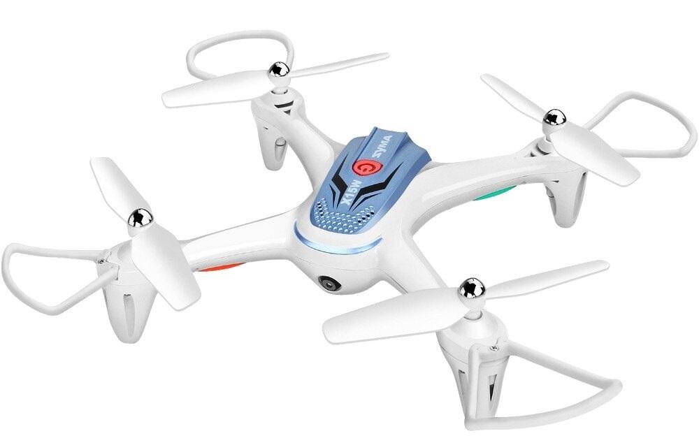 Syma X15W bílá, FPV, HD kamera, 6axis gyro, barometr, LED, 360° otočky, headless mod, RTF
