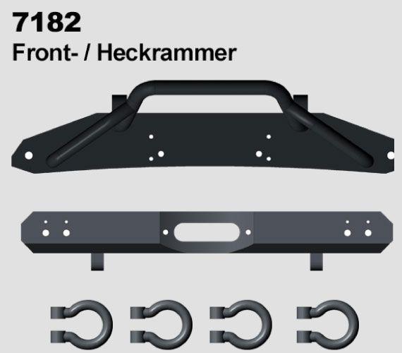 Přední a zadní nárazník pro XL Line DF-4S od DF models