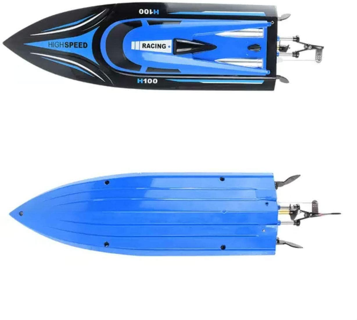 Závodní člun HIGHSPEED H100 1:36, až 20 km/h, LCD vysílač, funkce Reversion, RTR