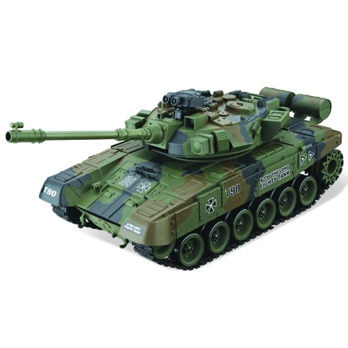RUSSIAN T90 BB 1:16, LED, zvkový modul, 100% RTR