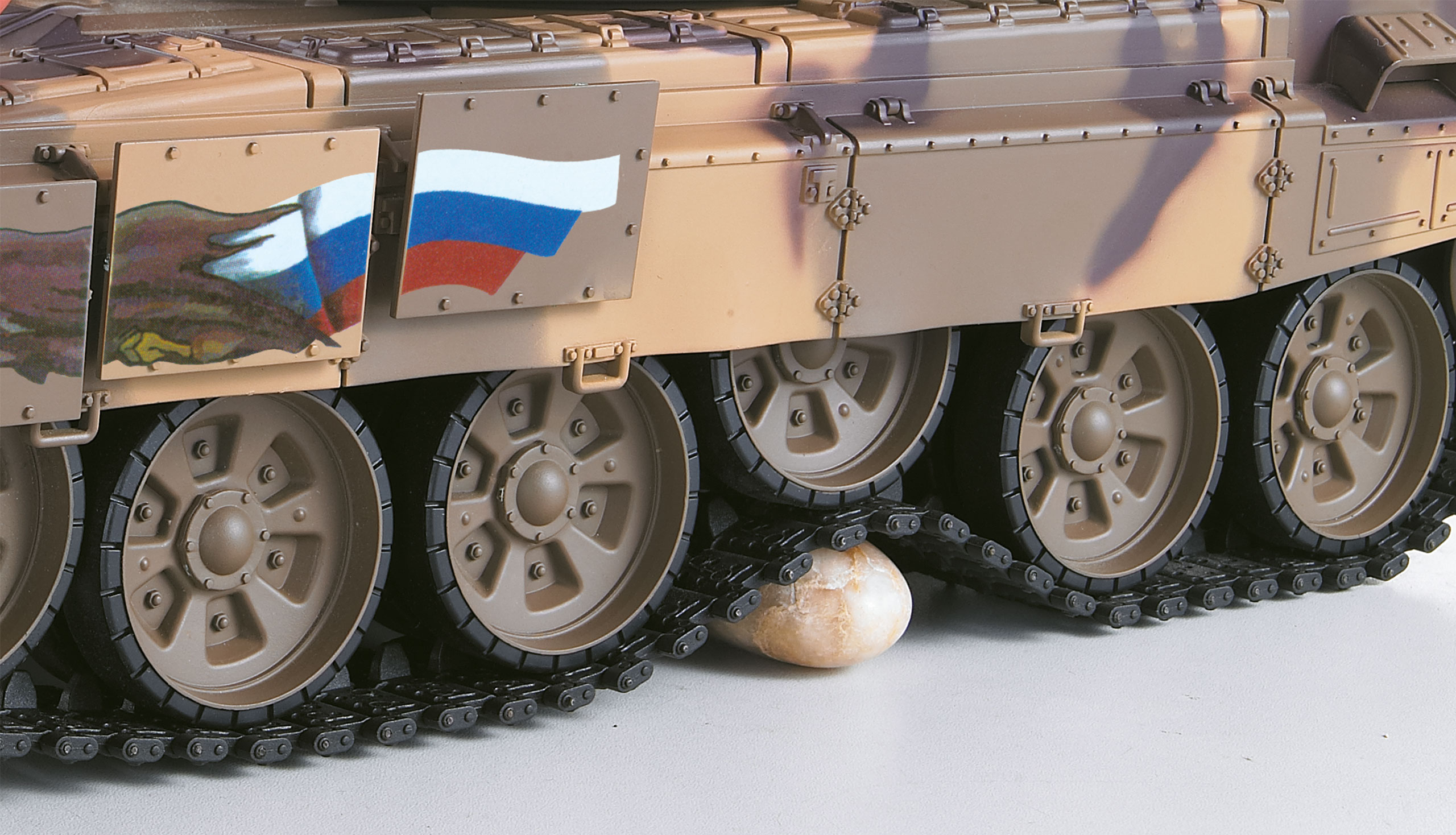 Tank T-90 BB+IR 2,4Ghz  1:16 RTR sada s Li-ion Aku