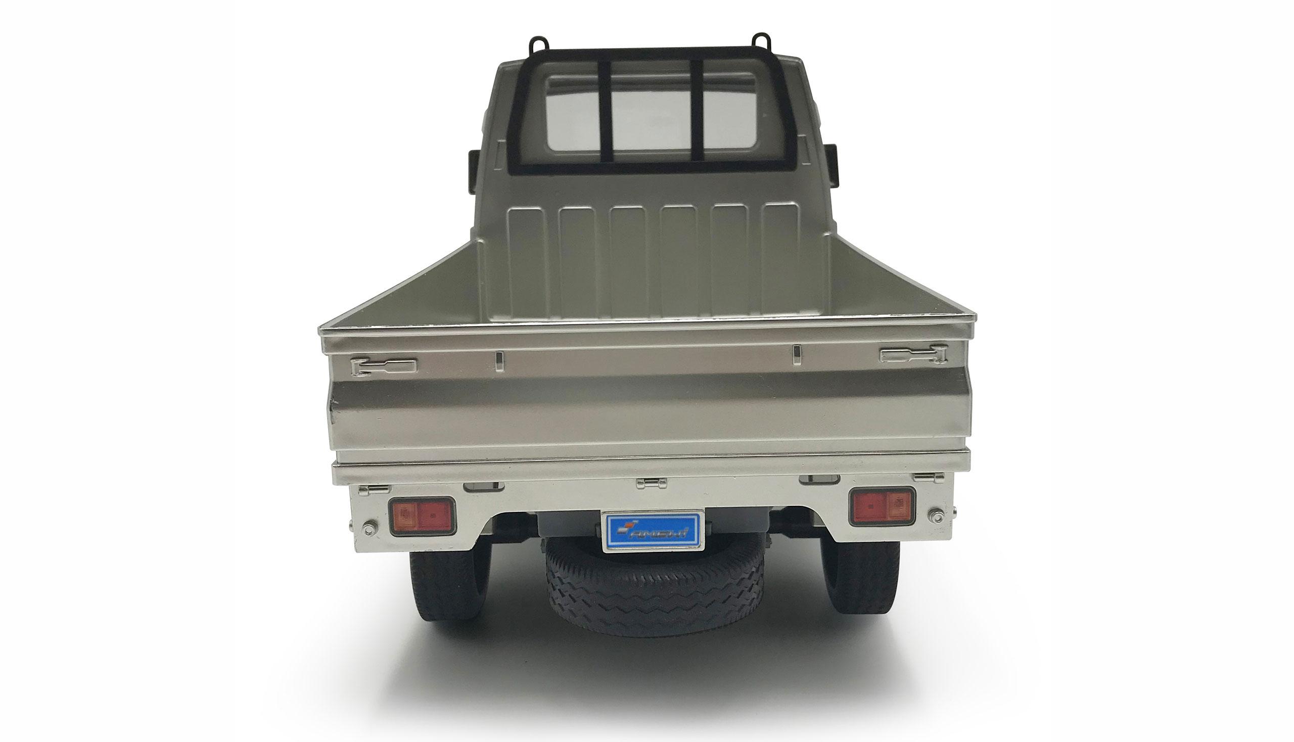 KEI TRUCK 1:10, plně proporcionální asijský mini transporter, 2 rychlosti, 2WD, LED, RTR