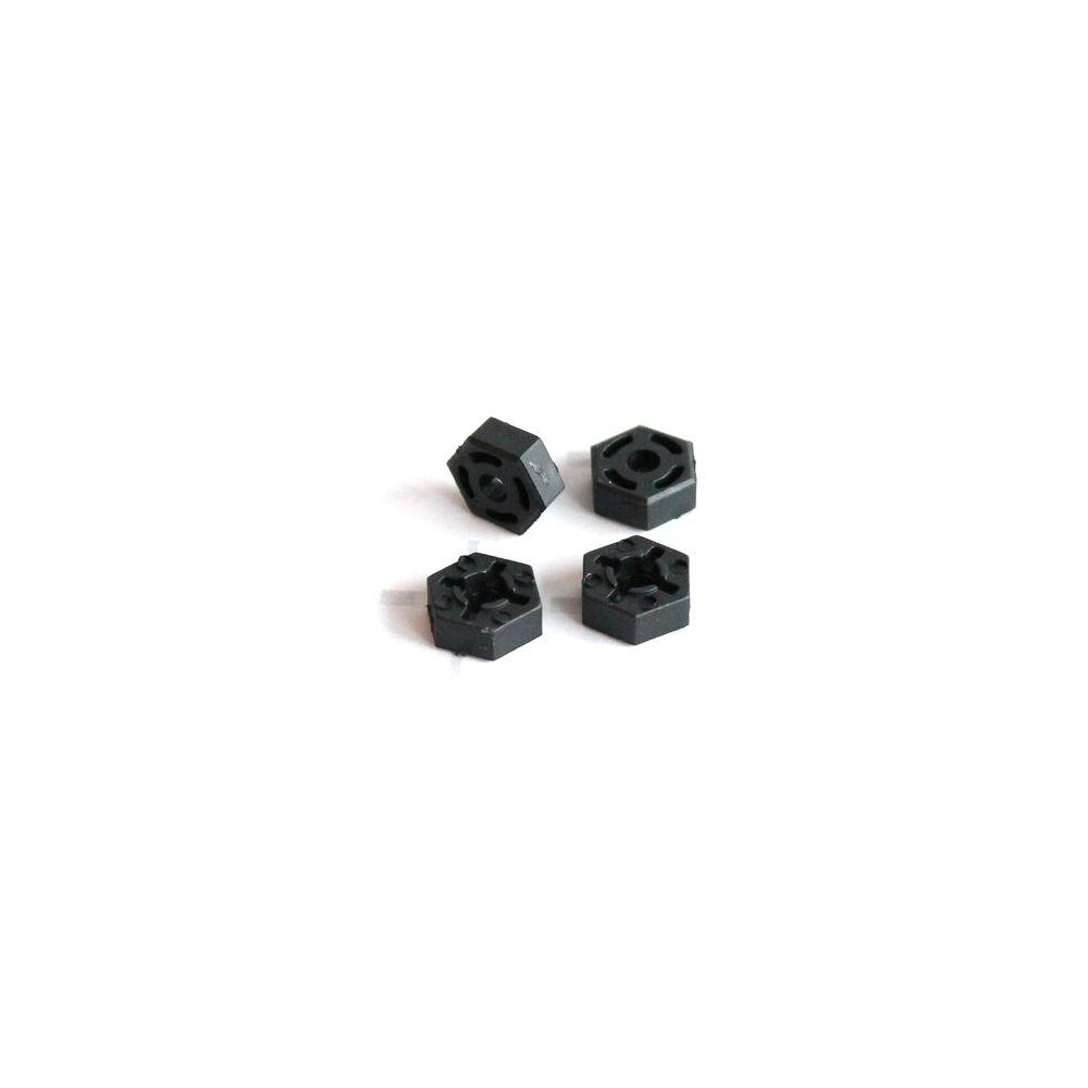 Plastové unašeče kol (4 ks.) pro Z06 Evolution, 3120 DF Models / 144001 WL Toys