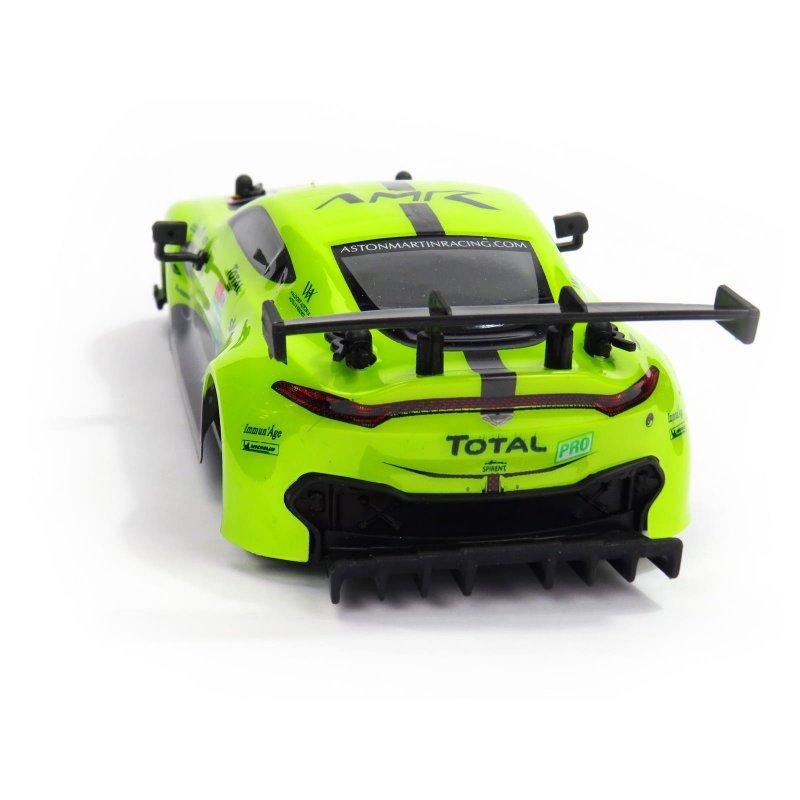Aston Martin VANTAG GTE, licencovaný model 1:24, ovladač pro praváky/leváky, 100% RTR