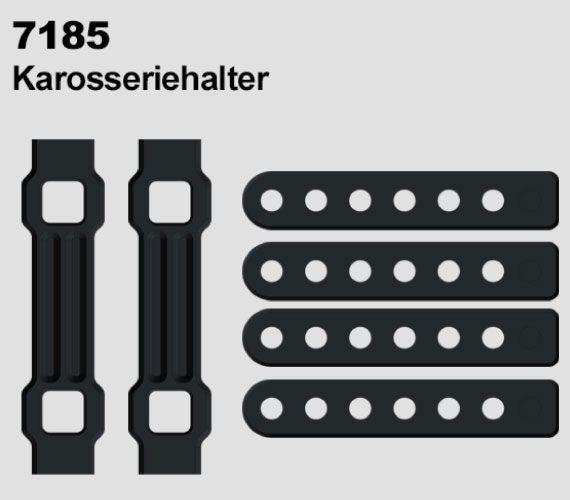 Držáky karoserie pro DF-4S Crawler od DF Models