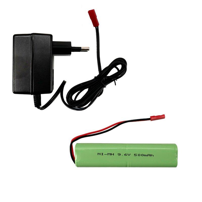 Set AKU 9,6V / 500 mAh + síťový nabíječ, pro US MAxxPro 2WD MRAP 1:16 Torro
