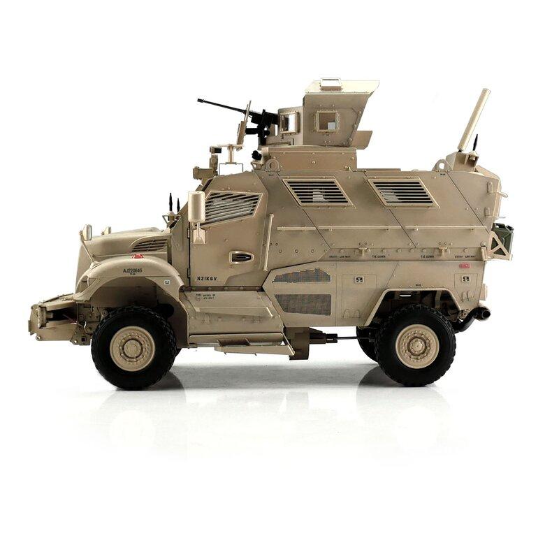 US MaxxPro 2WD MRAP 1:16, maketa, proporcionální, LED, zvuk, otočná střílna, funkční dveře