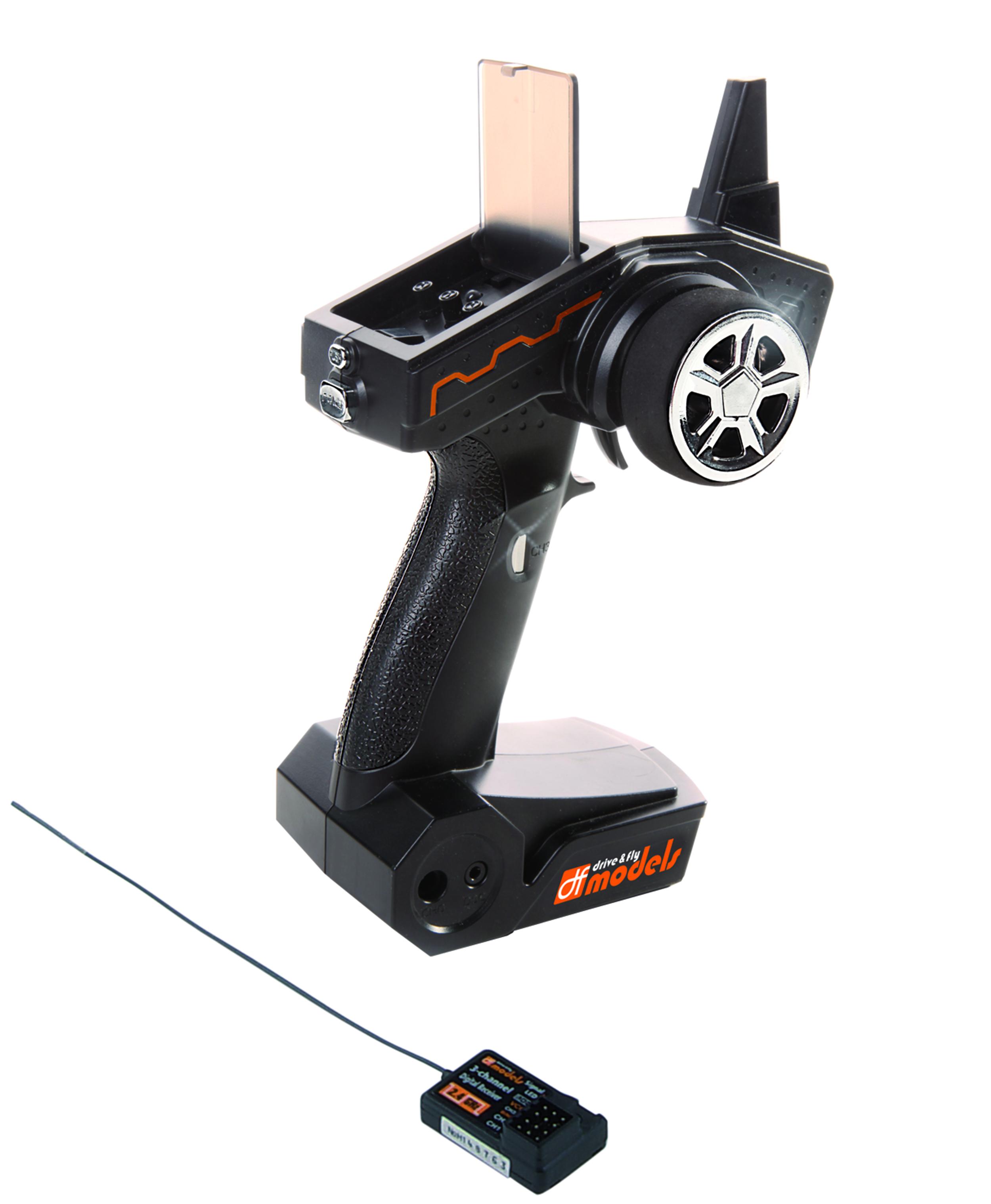 Vysílač s přijímačem 3ch, 2,4 GHz