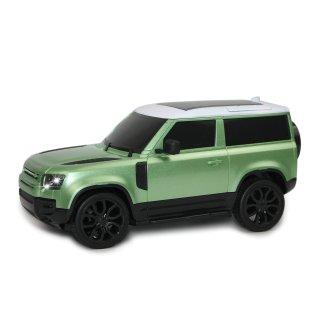 Land Rover Defender 90, 1:24, 2,4 GHz, LED, 100% RTR, světle zelená metalíza