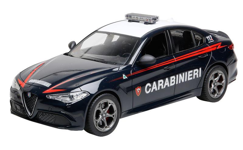 RE.EL Toys Alfa Romeo GIULIA Carabinieri Sc.1/14 - RC 2.4GHz