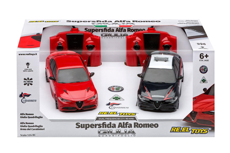 RE.EL Toys Superfida ALFA ROMEO Carabinieri Sc.1:24 - RC 2.4GHz