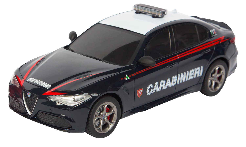 RE.EL Toys Alfa Romeo GIULIA Carabinieri Sc.1/18 - RC 2.4GHz