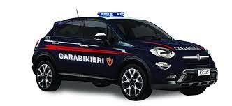 RE.EL Toys Fiat 500 X Carabinieri, licence 1:24, LED