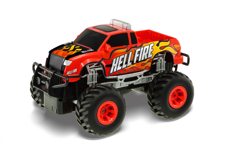 RE.EL Toys Big Wheels: PICKUP HELLFIRE 1:20
