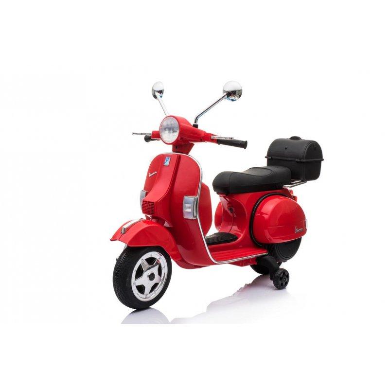 Siva E Street Bike Vespa PX 150 12V červená