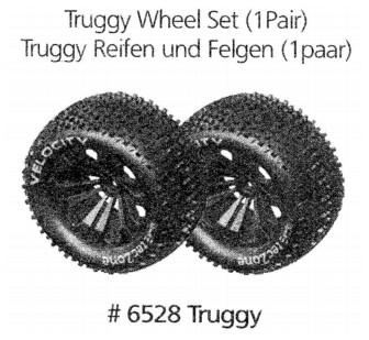 Sada pneumatik pro Truggy