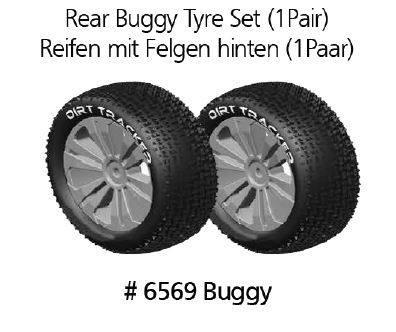 Sada zadních pneumatik pro Buggy