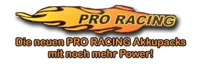 LiPo Aku 7,4 V / 6500 mAh - 45C Pro Racing T-Dean