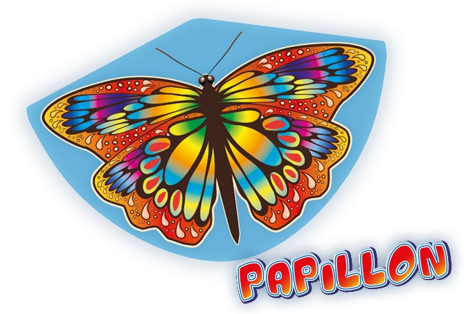 PAPILLON 92x62 cm