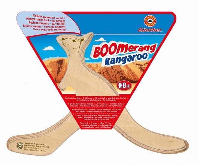 Bumerang KANGAROO dřevěný