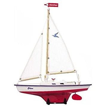 Model plachetnice pro děti MÖVE 39 x 50 cm (dřevo)