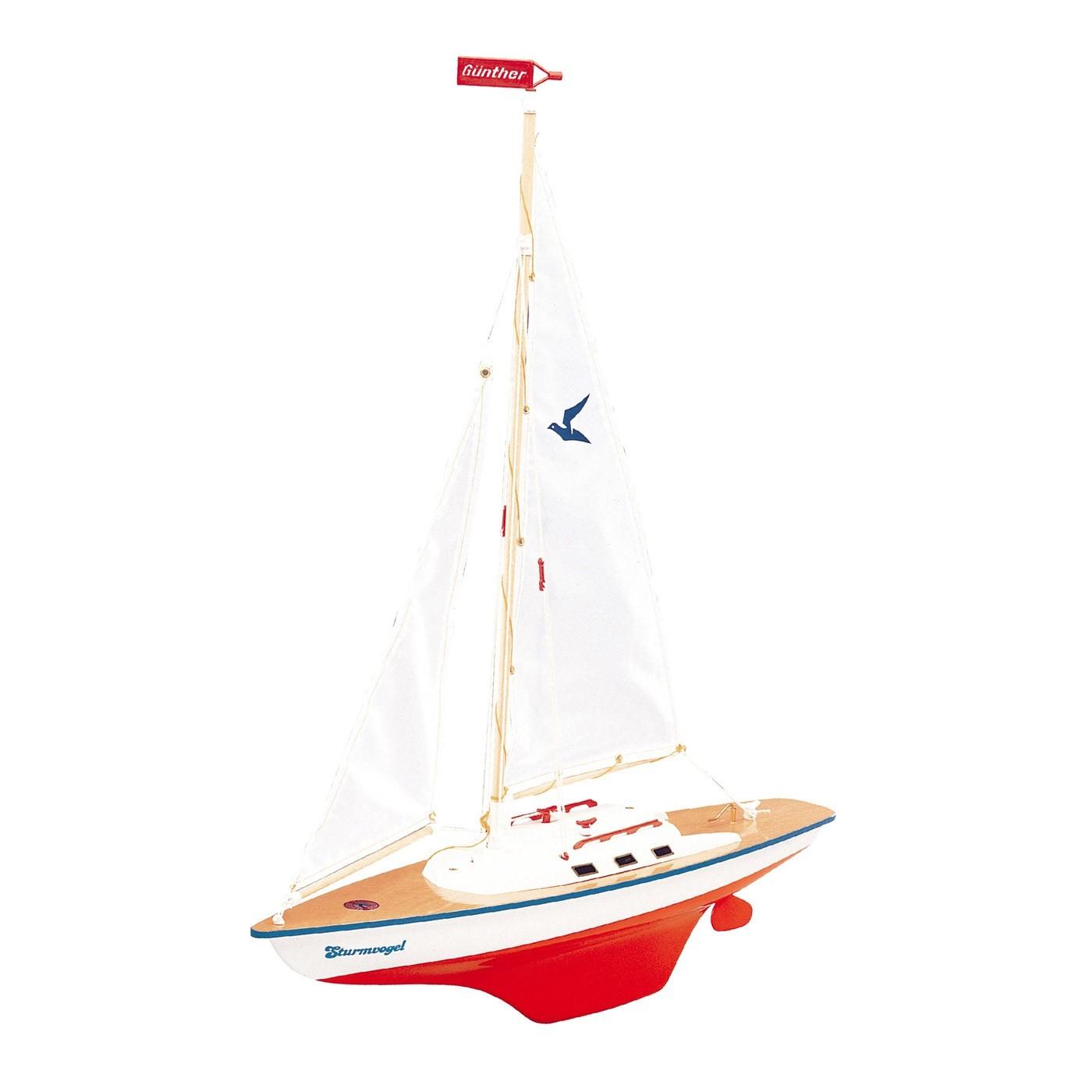 Model plachetnice STURMVOGEL 55x67 cm (dřevo)