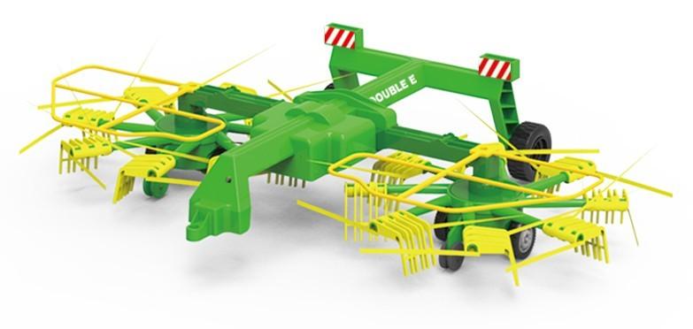 Elektrický obraceč sena za traktor FENDT a DOUBLE E 1:16