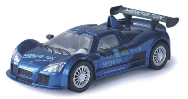 Model Apollo Gumpert - modrý