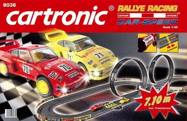 "Autodráha Cartronic Car-Speed ""Racing Rallye"" 7,10 m"